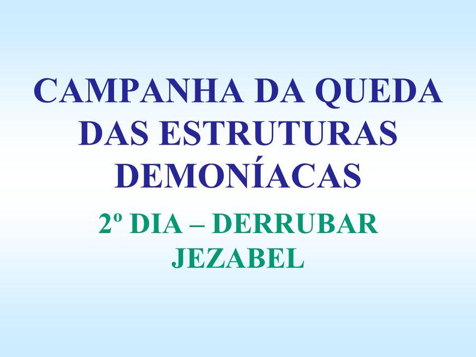CAMPANHA DA QUEDA DAS ESTRUTURAS DEMONÍACAS