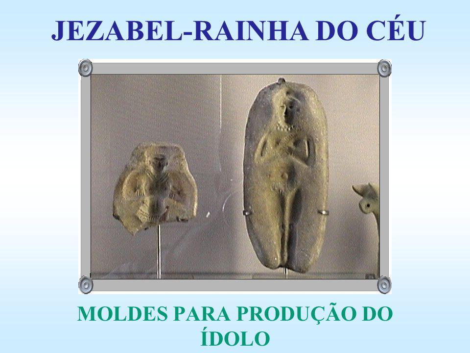 MOLDES PARA PRODUÇÃO DO ÍDOLO