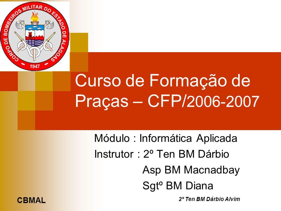 Curso de Formação de Praças – CFP/2006-2007
