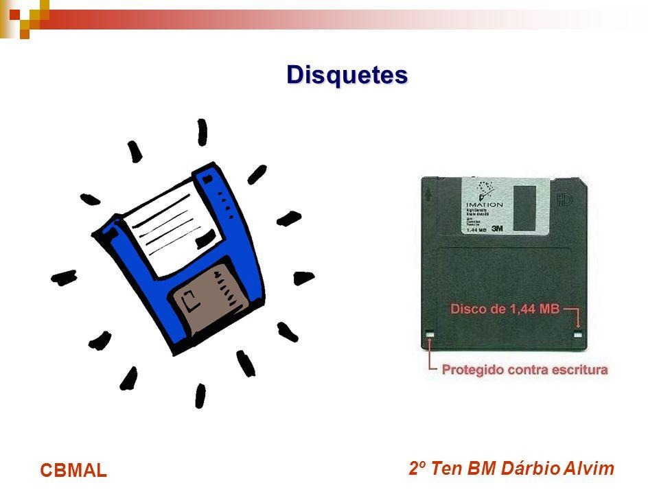 Disquetes CBMAL 2º Ten BM Dárbio Alvim