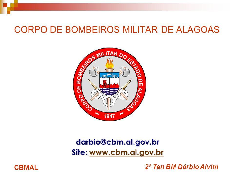 CORPO DE BOMBEIROS MILITAR DE ALAGOAS