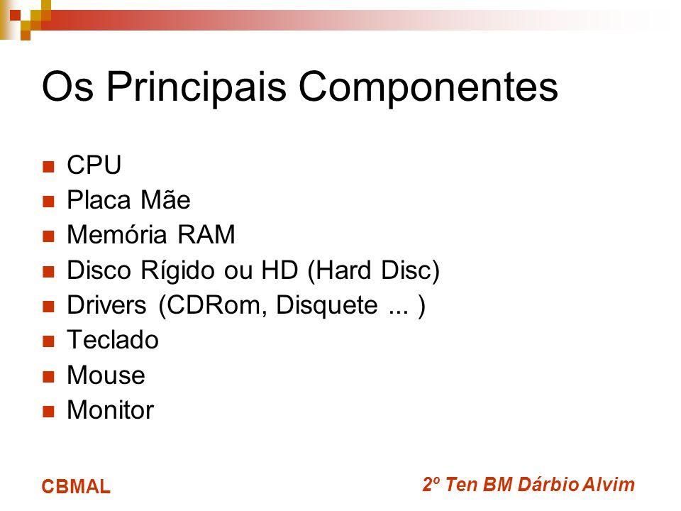 Os Principais Componentes
