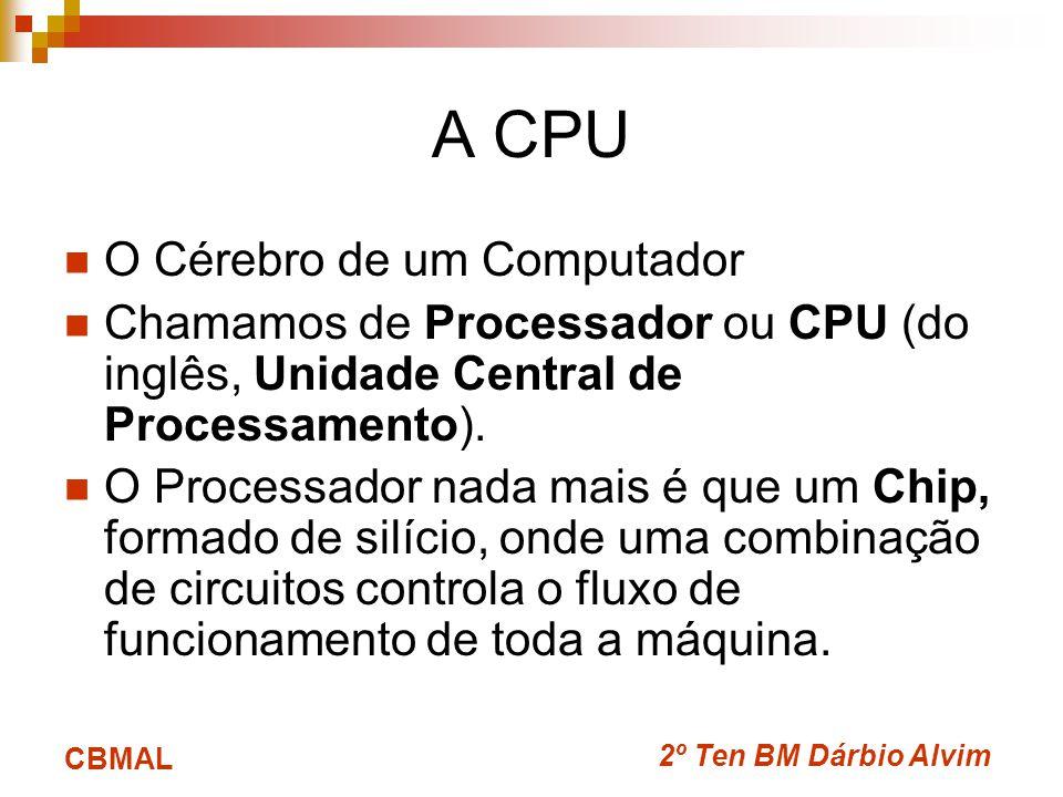 A CPU O Cérebro de um Computador