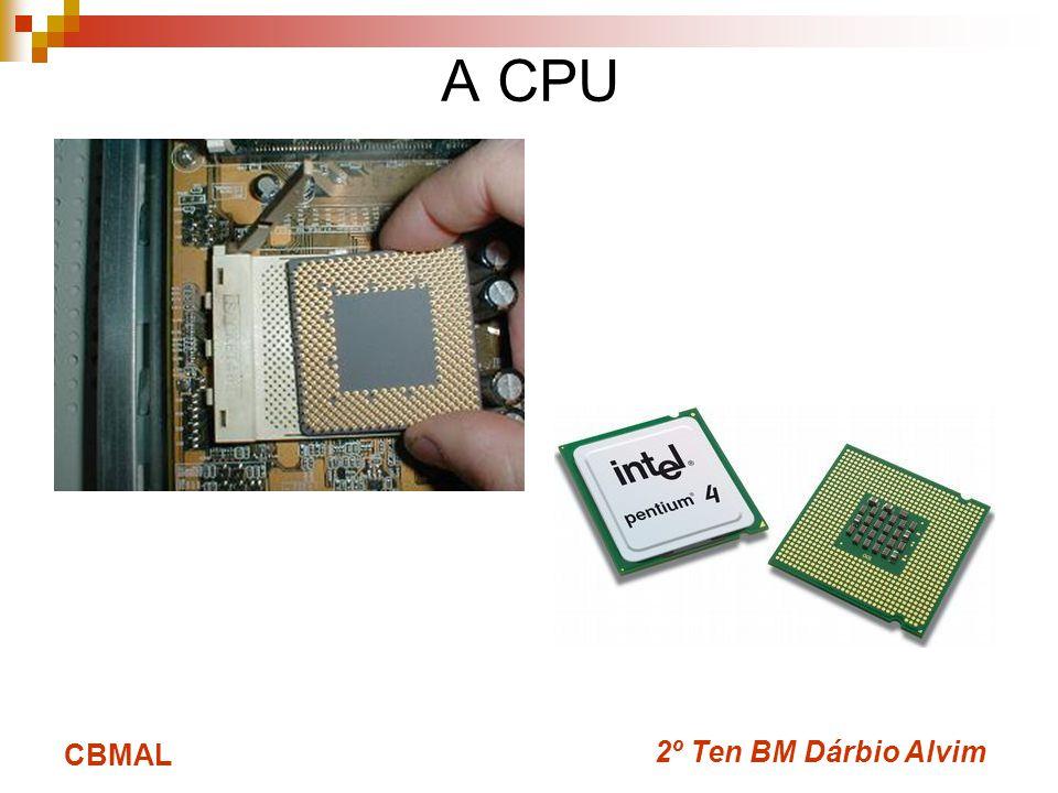 A CPU CBMAL 2º Ten BM Dárbio Alvim