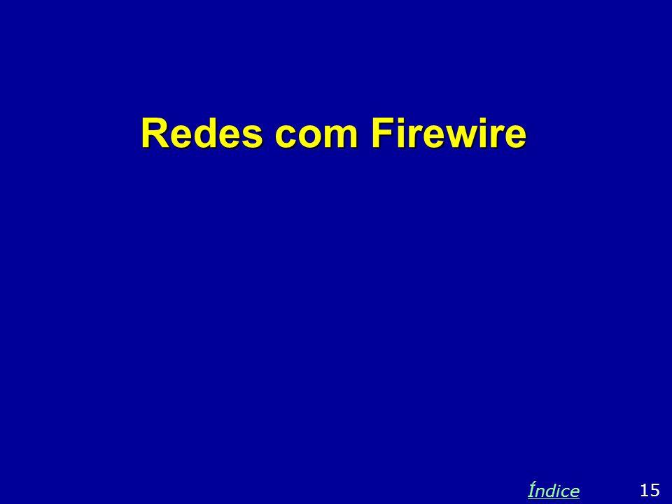 Redes com Firewire Índice 15