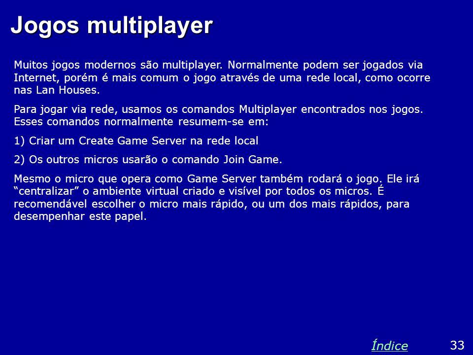 Jogos multiplayer Índice 33