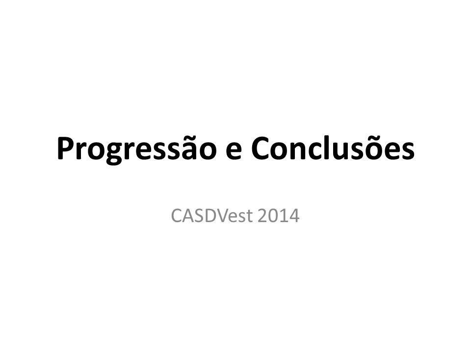 Progressão e Conclusões