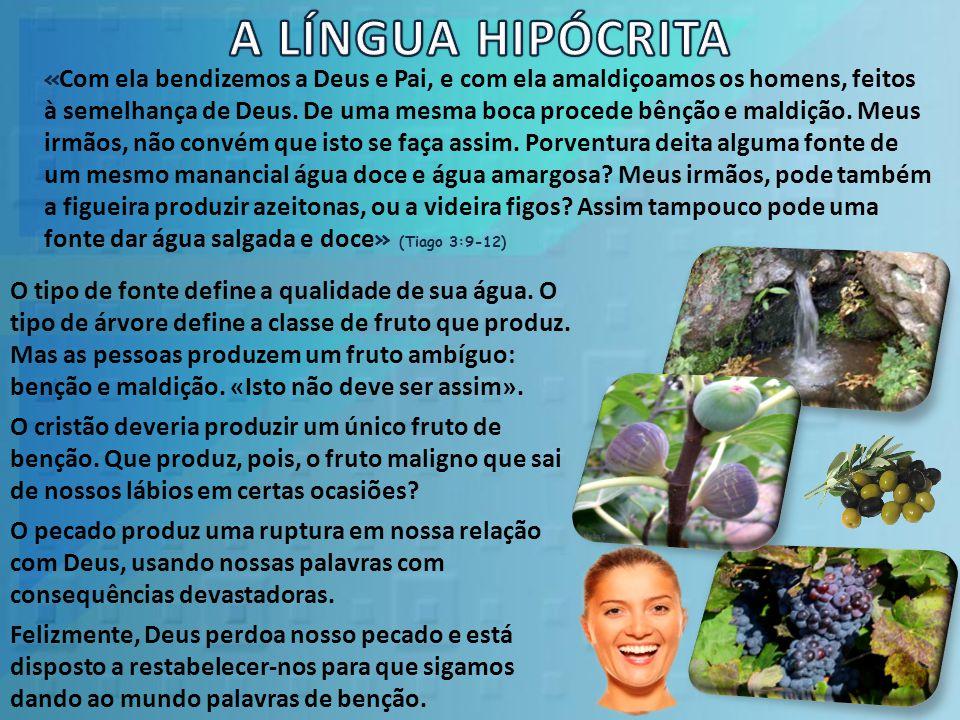 A LÍNGUA HIPÓCRITA