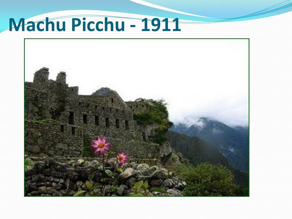 Machu Picchu - 1911