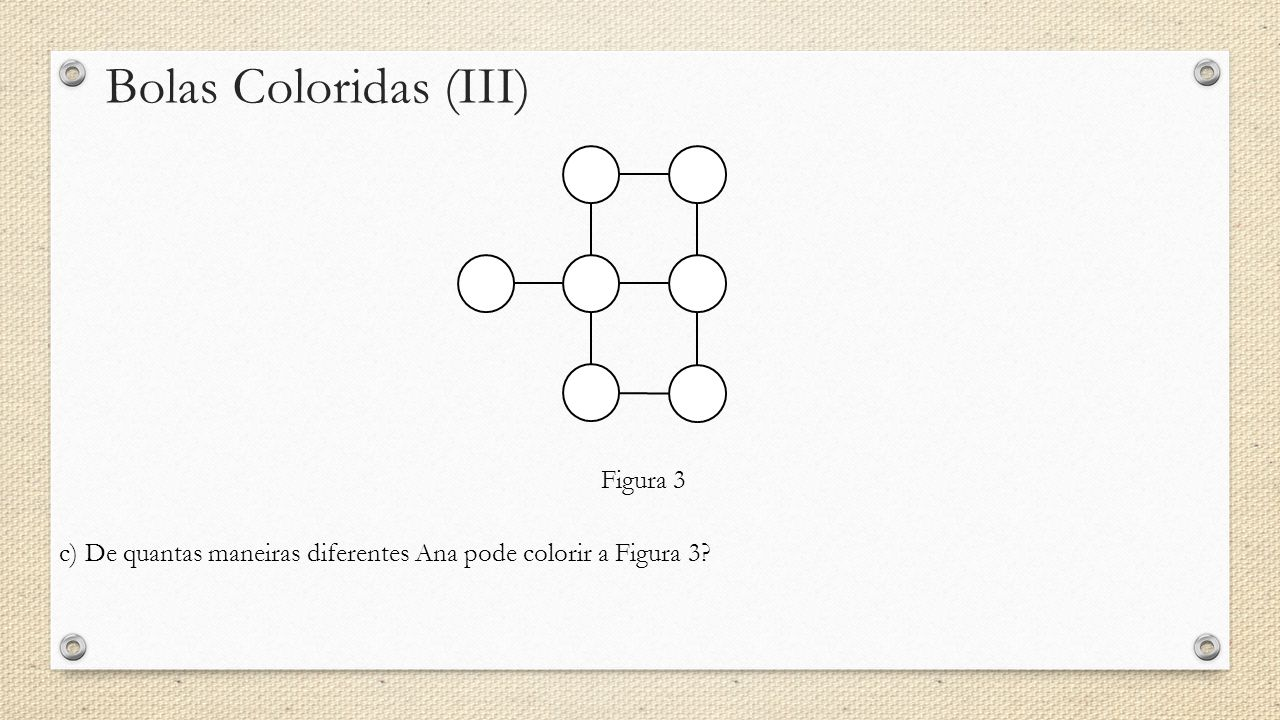 Bolas Coloridas (III) Figura 3