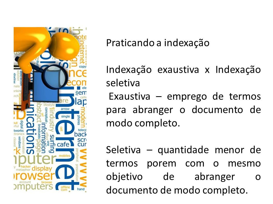Praticando a indexação