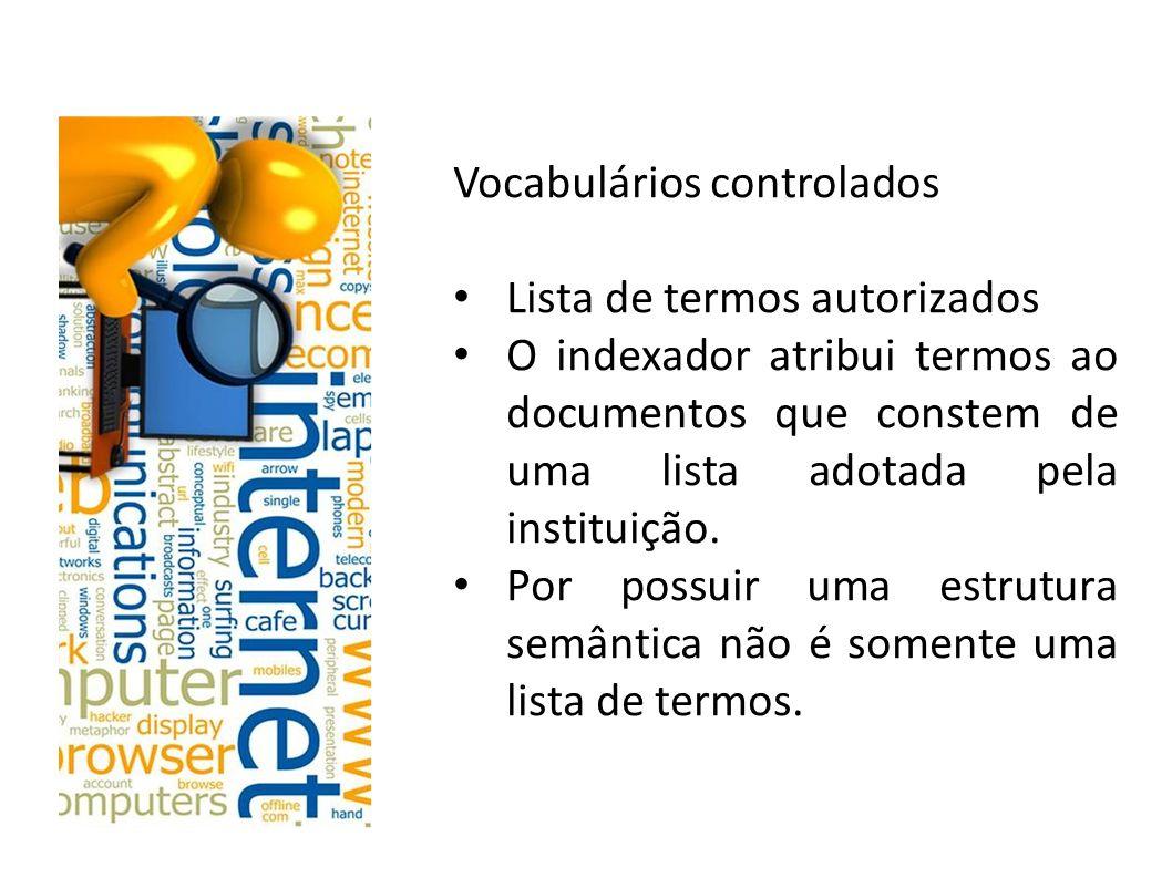 Vocabulários controlados
