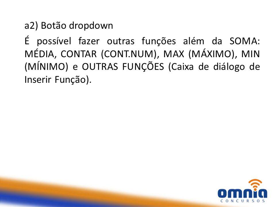 a2) Botão dropdown