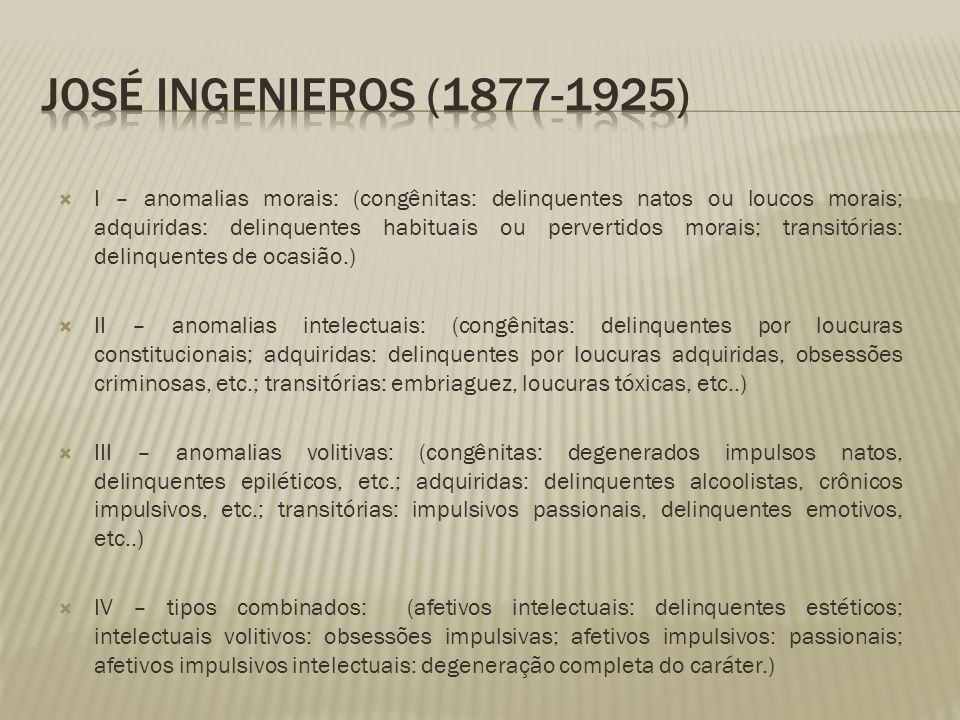José Ingenieros (1877-1925)