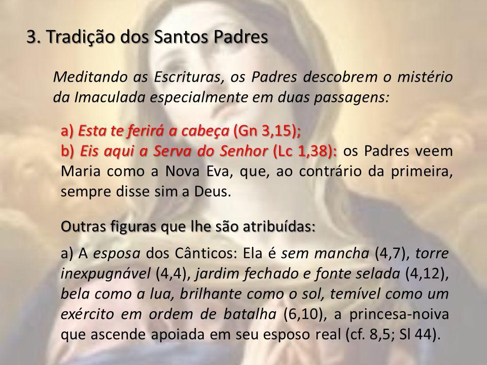3. Tradição dos Santos Padres