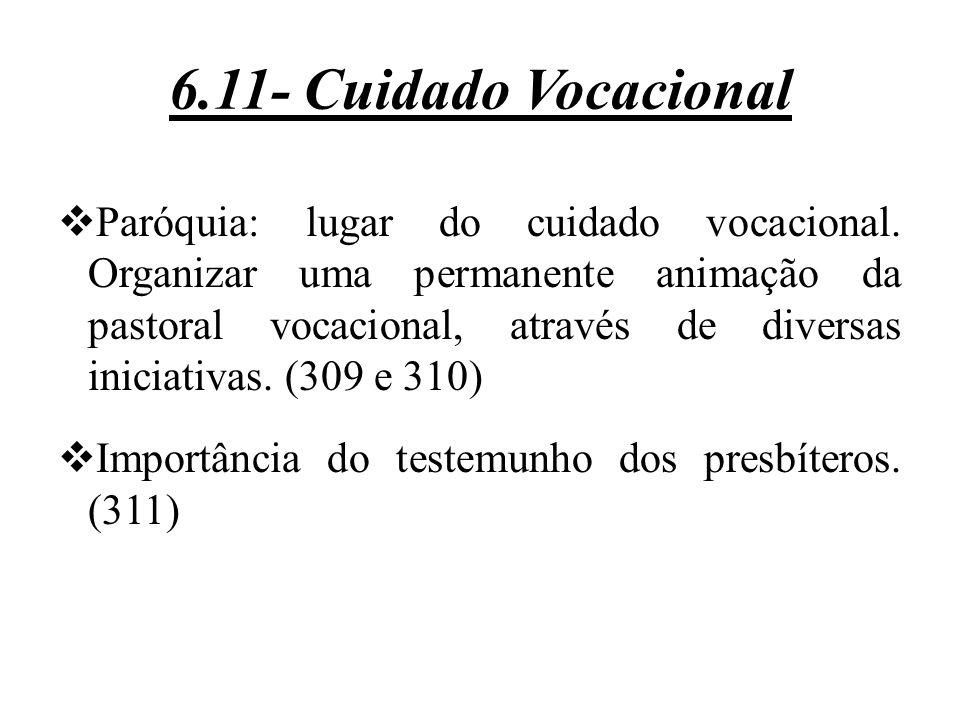 6.11- Cuidado Vocacional