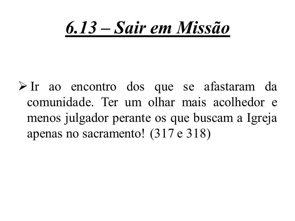 6.13 – Sair em Missão