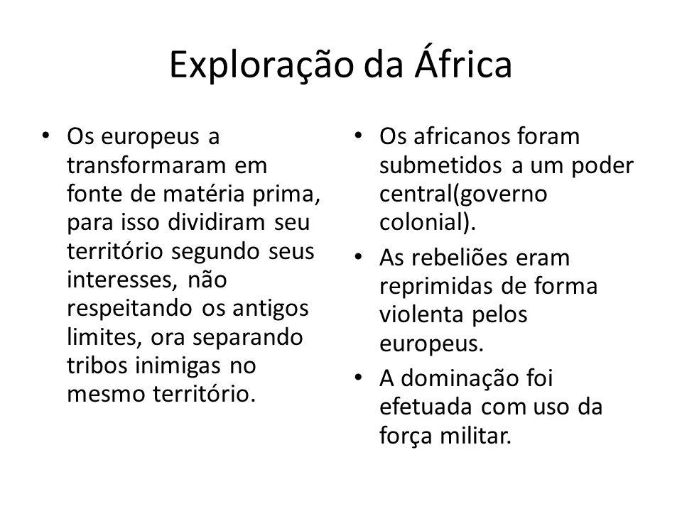 Exploração da África