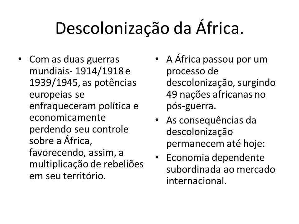 Descolonização da África.