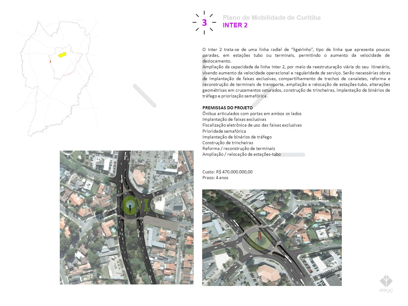 3 Plano de Mobilidade de Curitiba INTER 2