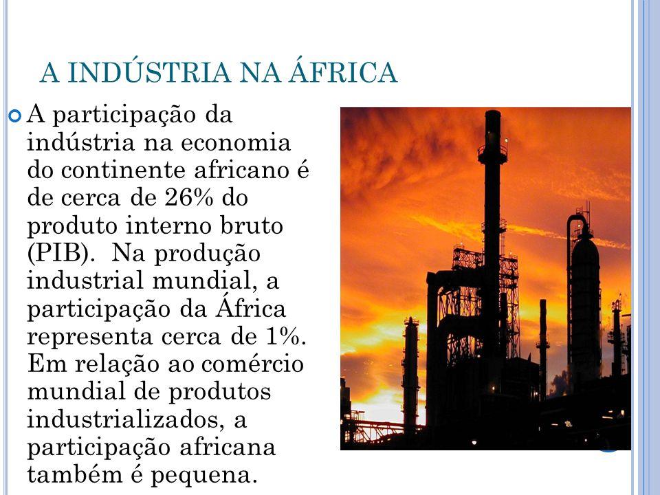 A INDÚSTRIA NA ÁFRICA
