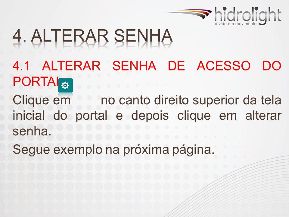 4. ALTERAR SENHA