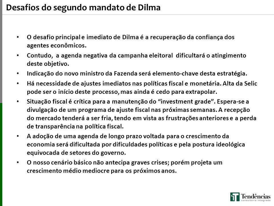 Desafios do segundo mandato de Dilma