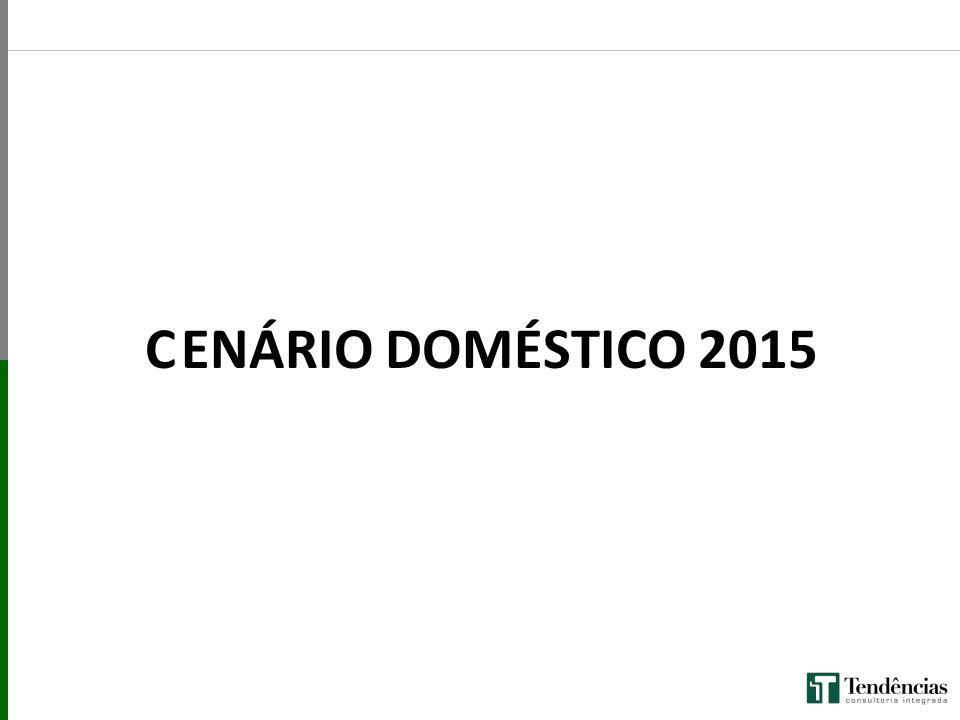 C ENÁRIO DOMÉSTICO 2015