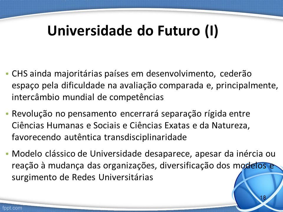 Universidade do Futuro (I)