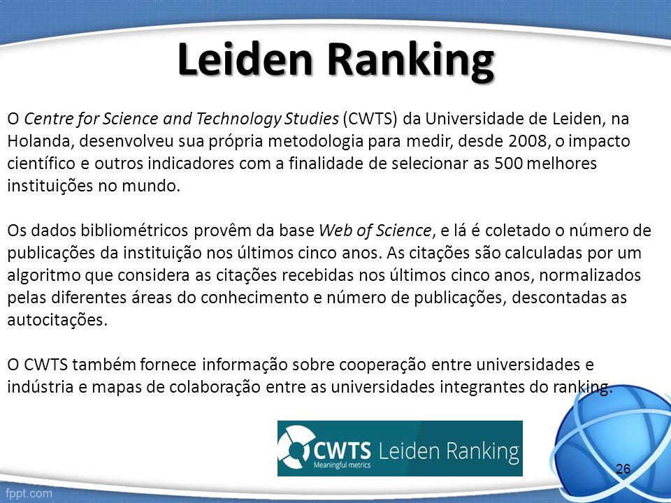 Leiden Ranking