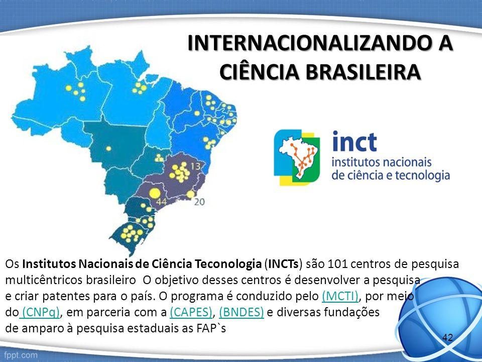 INTERNACIONALIZANDO A CIÊNCIA BRASILEIRA