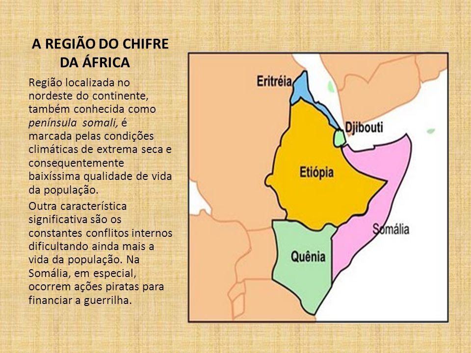 A REGIÃO DO CHIFRE DA ÁFRICA