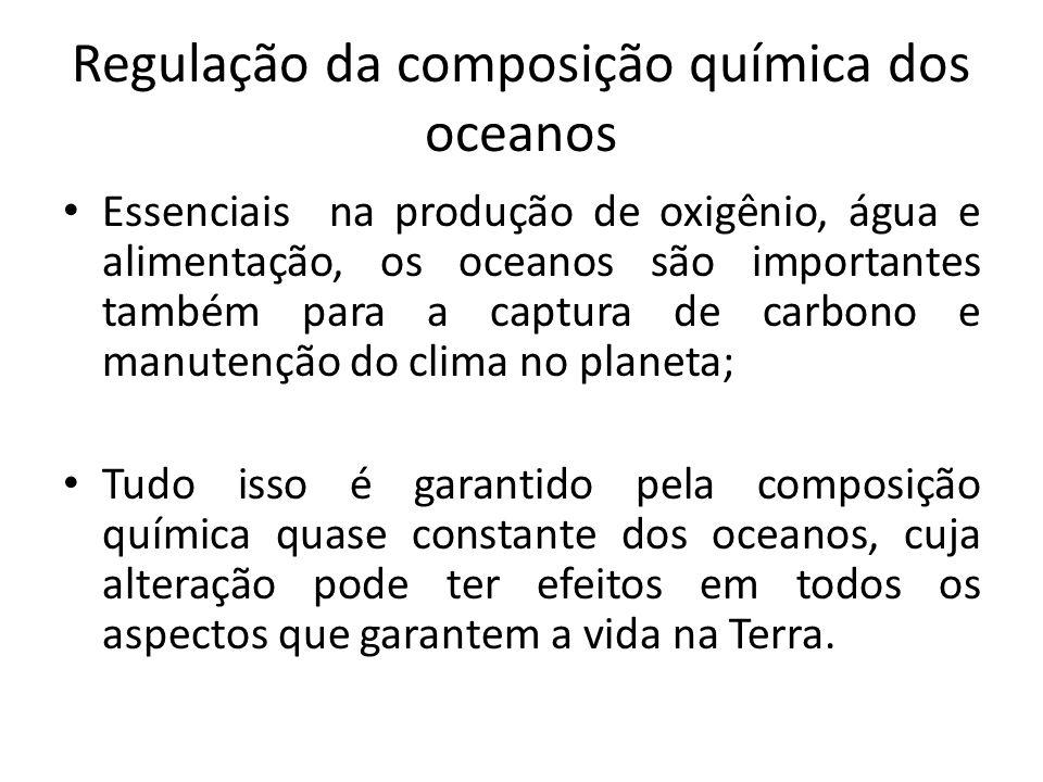 Regulação da composição química dos oceanos