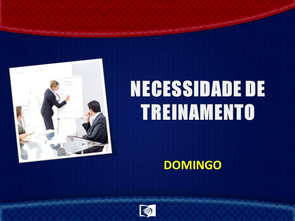 NECESSIDADE DE TREINAMENTO