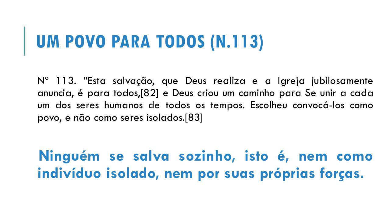 Um povo para todos (n.113)