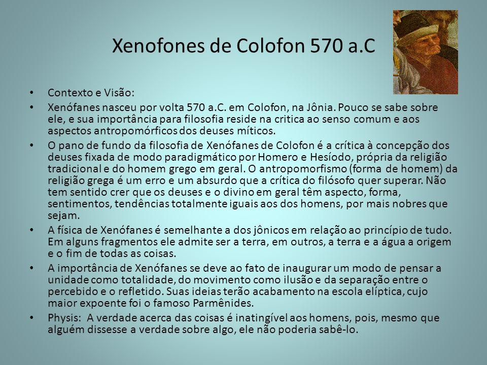 Xenofones de Colofon 570 a.C
