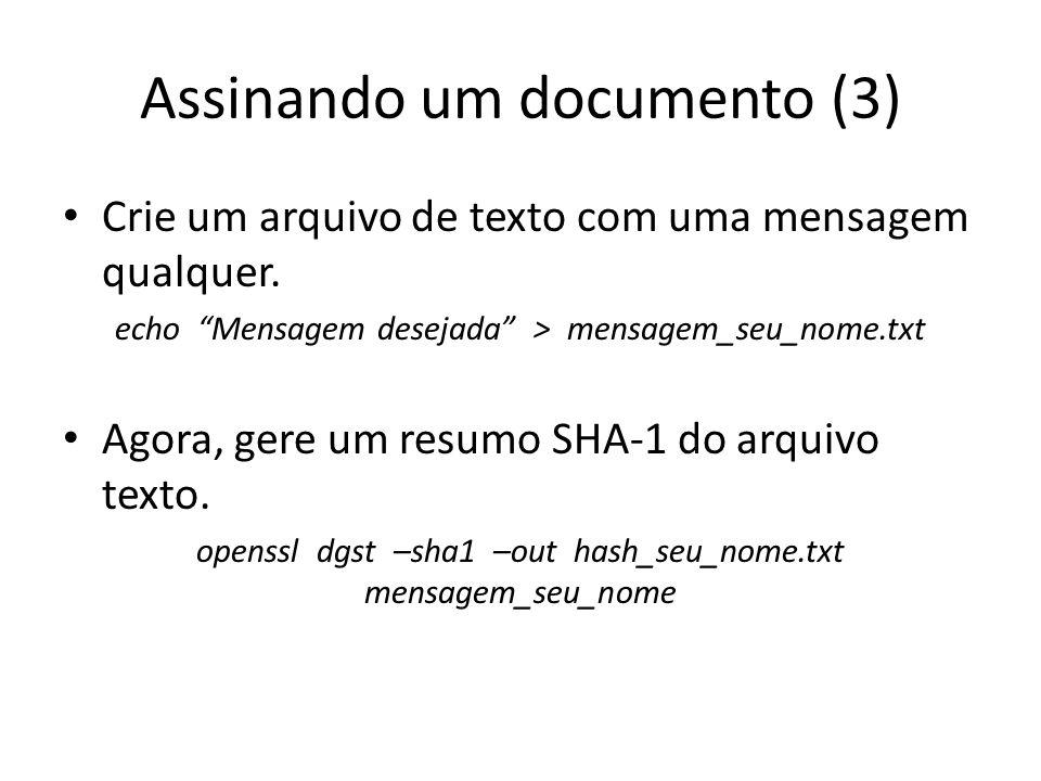 Assinando um documento (3)