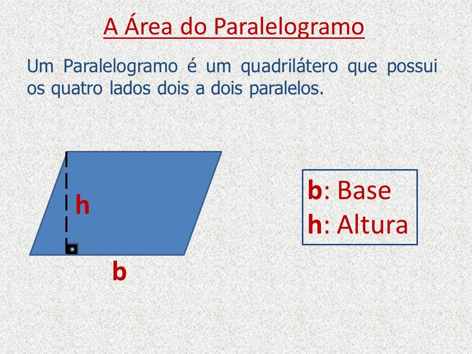 A Área do Paralelogramo