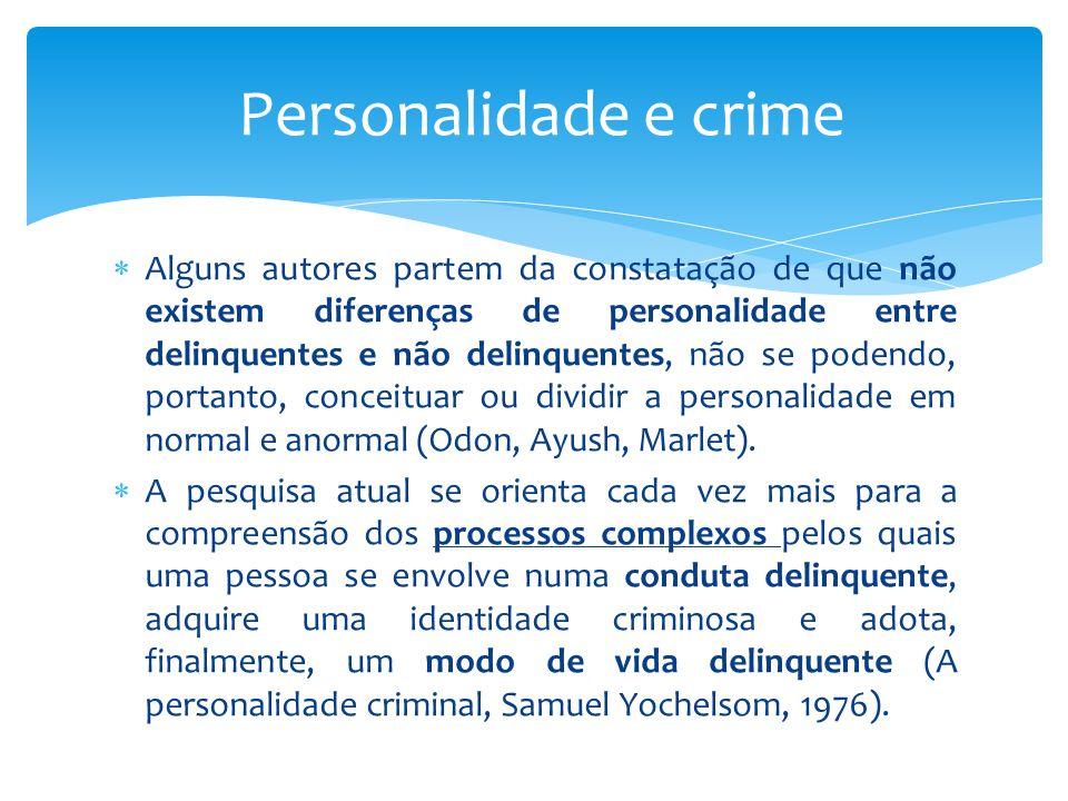 Personalidade e crime