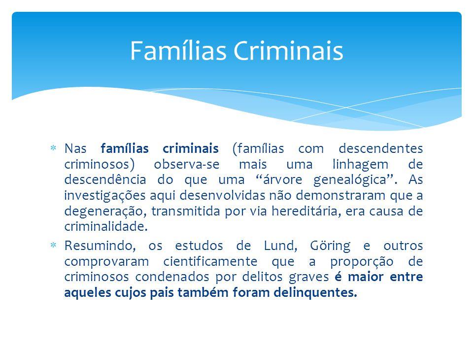 Famílias Criminais