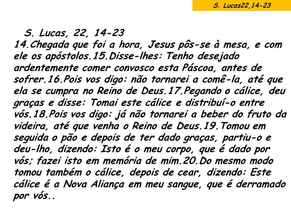 S. Lucas22,14-23 S. Lucas, 22, 14-23.