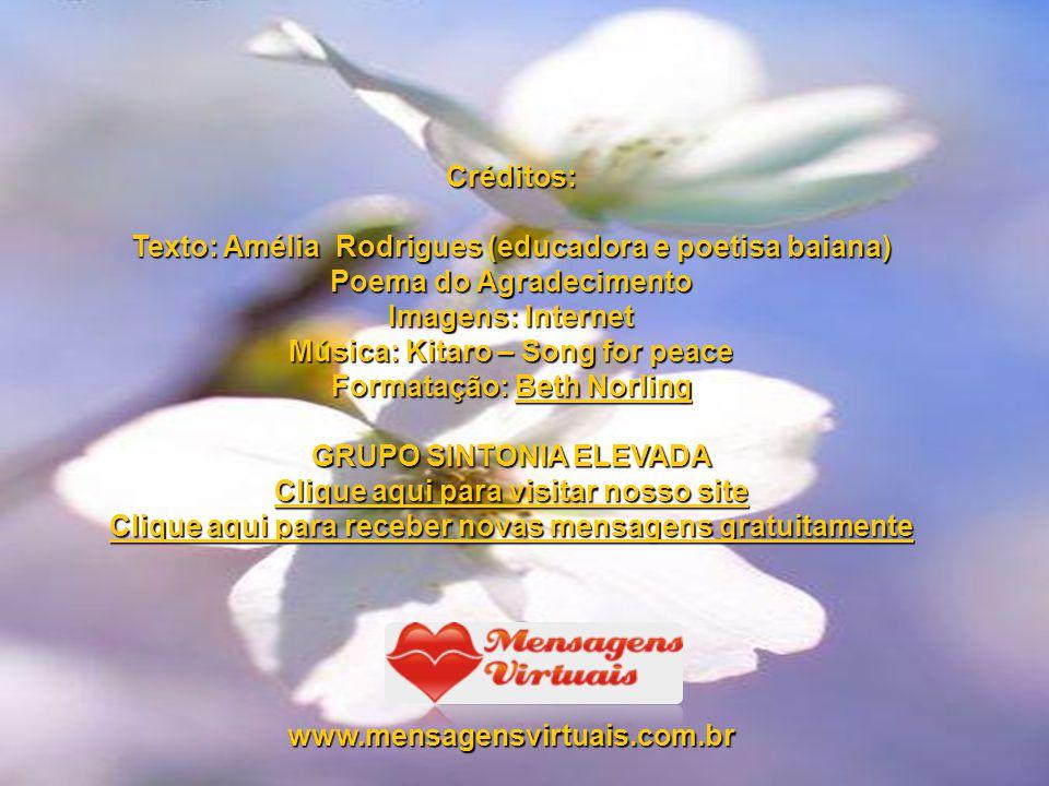 Texto: Amélia Rodrigues (educadora e poetisa baiana)