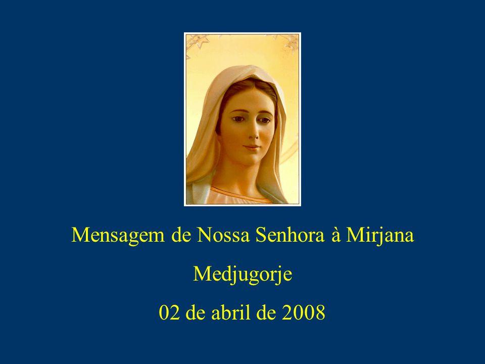 Mensagem de Nossa Senhora à Mirjana