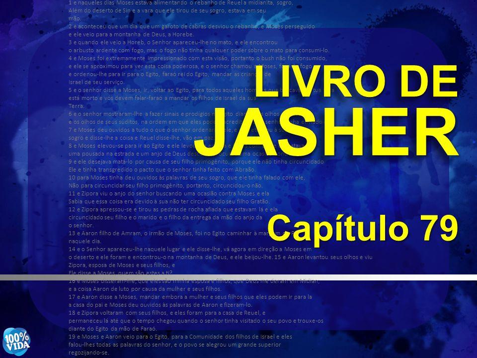 LIVRO DE JASHER Capítulo 79