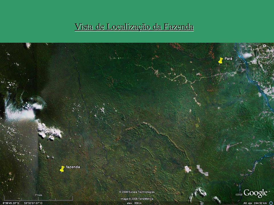 Vista de Localização da Fazenda