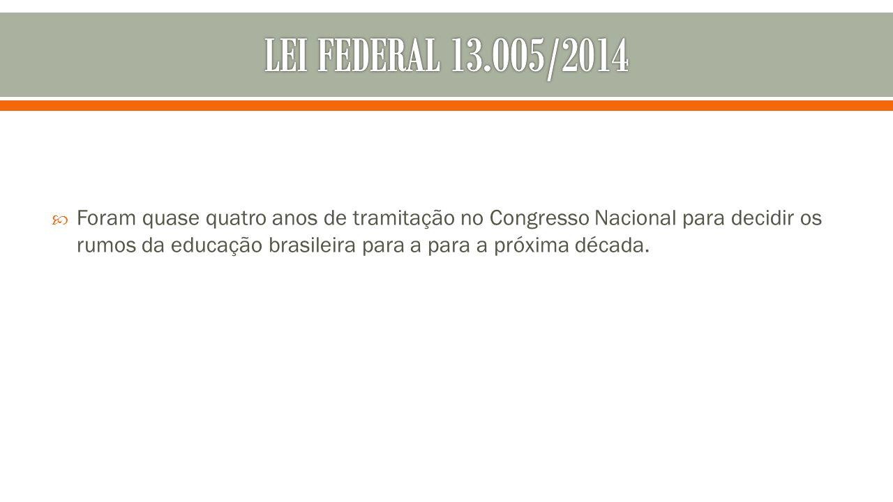 LEI FEDERAL 13.OO5/2014