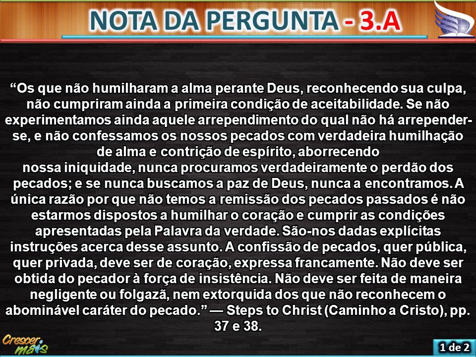 NOTA DA PERGUNTA - 3.A