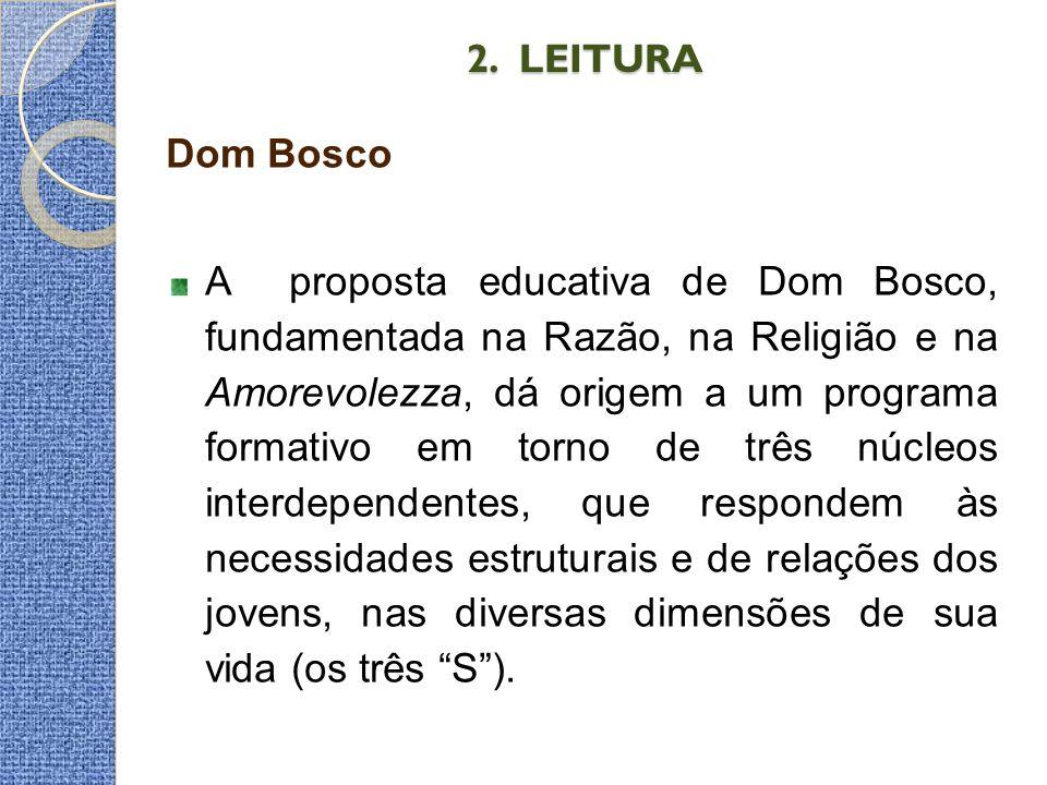 2. LEITURA Dom Bosco.
