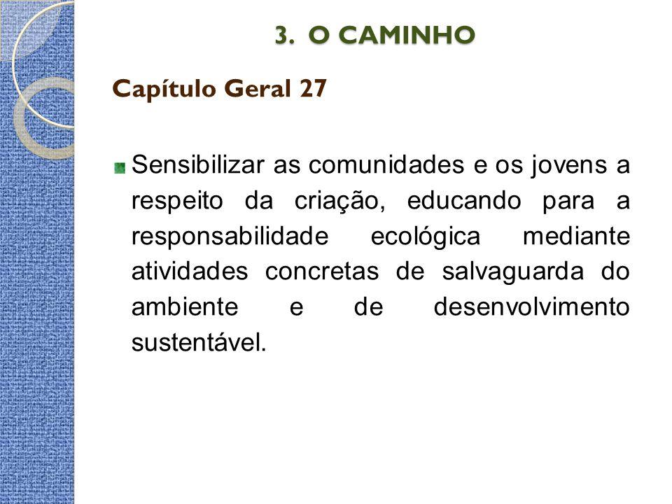 3. O CAMINHO Capítulo Geral 27