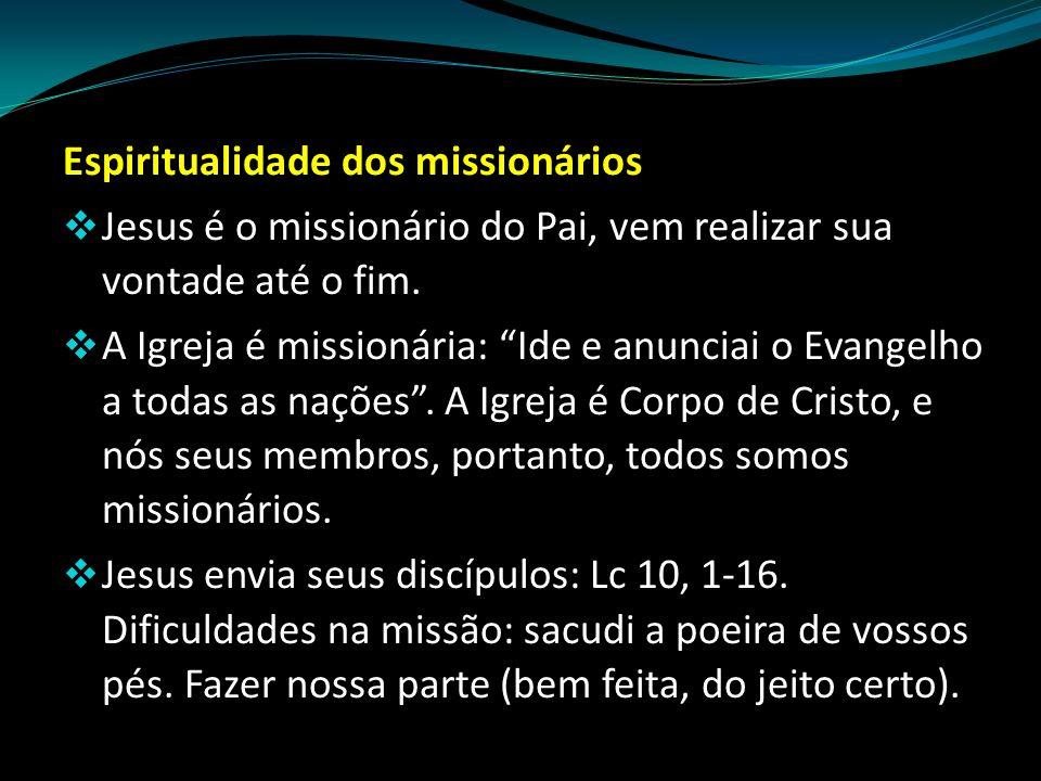 Espiritualidade dos missionários
